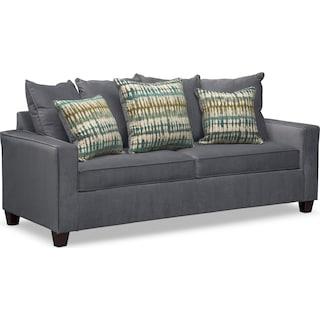 Bryden Queen Memory Foam Sleeper Sofa Slate