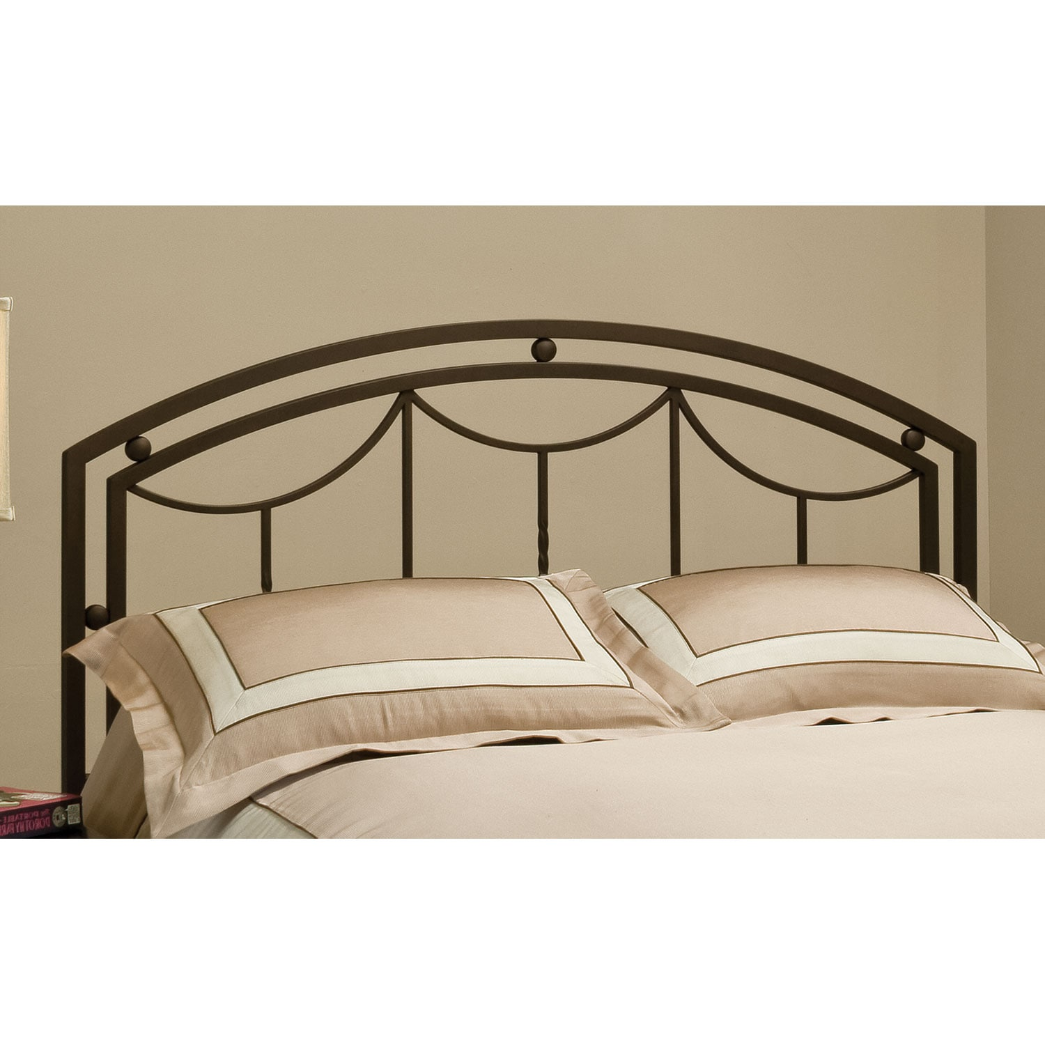 Arly King Headboard - Bronze