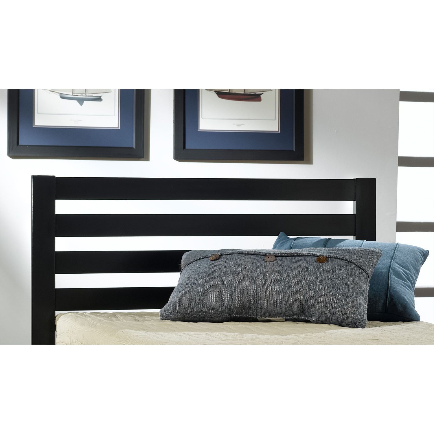 Bedroom Furniture - Aiden Twin Bed - Black