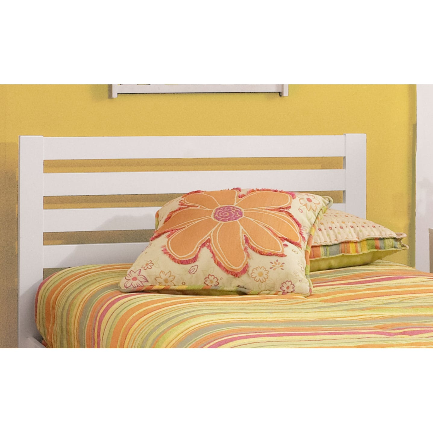 Bedroom Furniture - Aiden Twin Bed - White