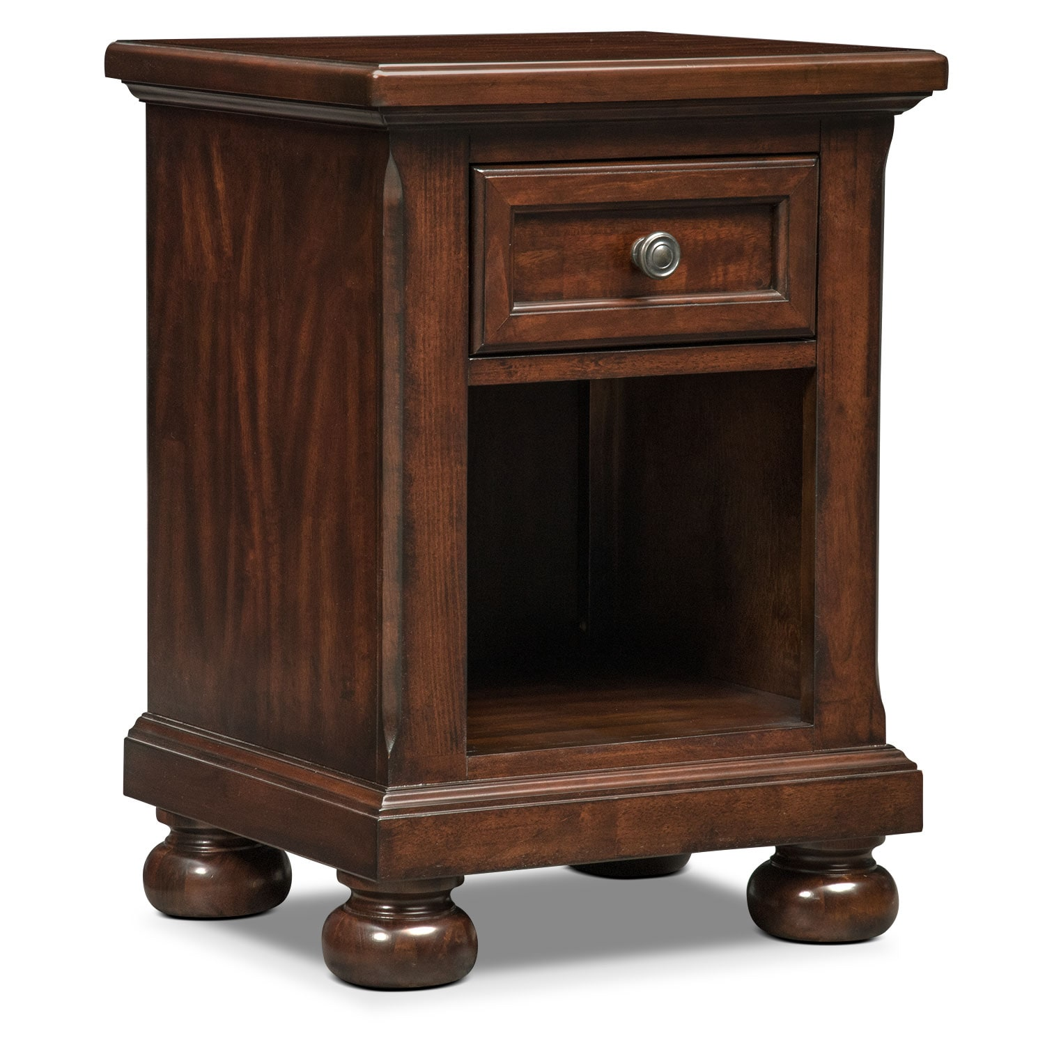 Bedroom Furniture - Hanover Youth Nightstand - Cherry