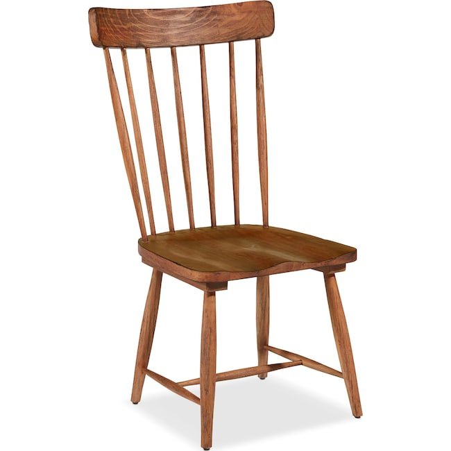 Dining Room Furniture - Farmhouse Spindle Back Side Chair - Bench