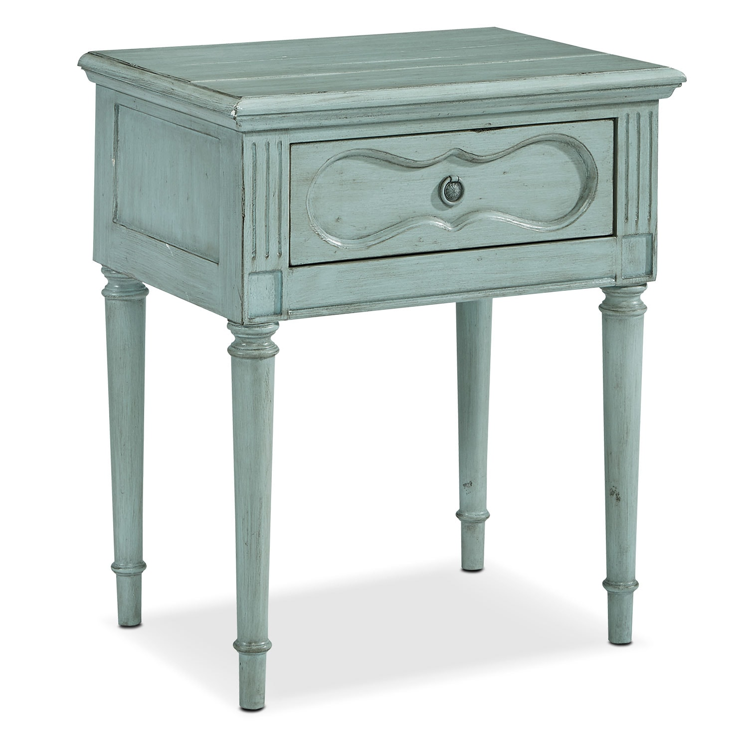 Cameo Night Table - French Blue