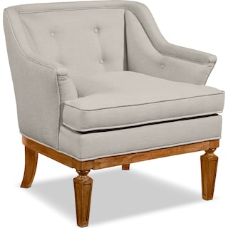 Cotillion Accent Chair - Flannel Gray