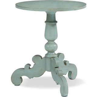 French Inspired Tripod Hall Table - French Blue