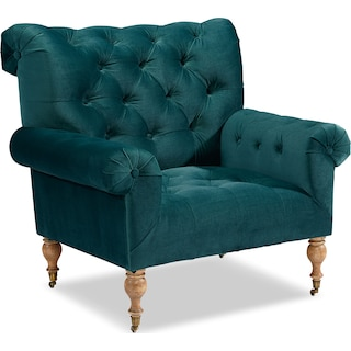 Carpe Diem Accent Chair - Peacock