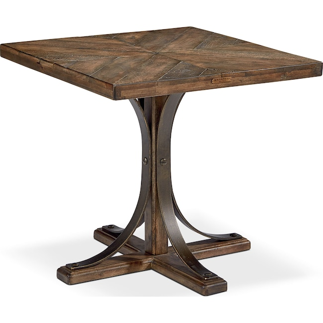 Accent and Occasional Furniture - Traditional Iron Trestle Hall Table