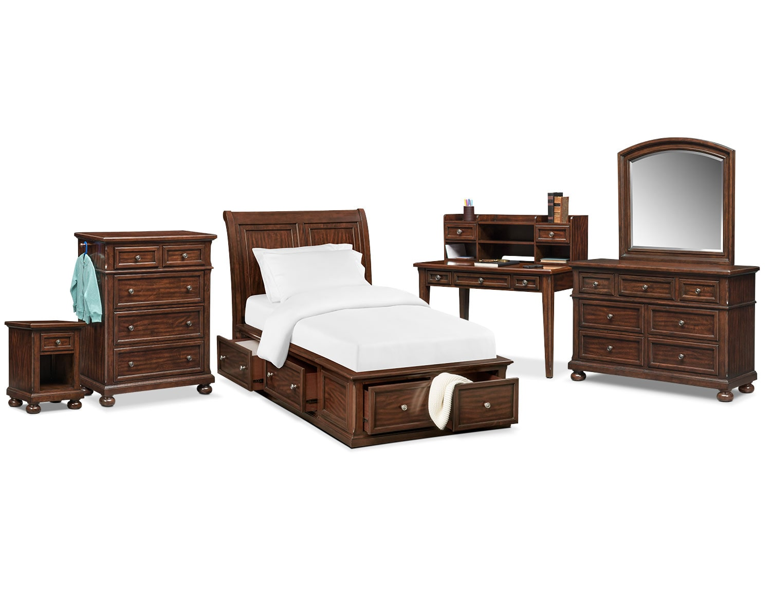 The Hanover Youth Bedroom Collection - Cherry