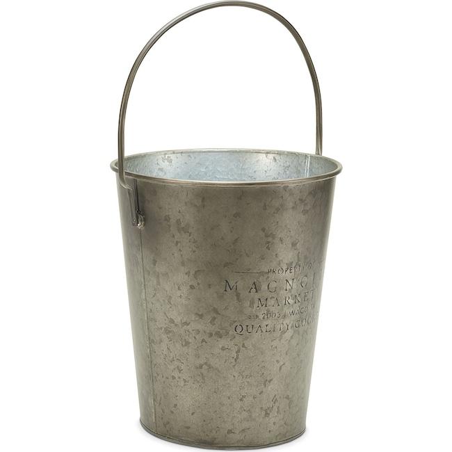 Home Accessories - Metal Milk Bucket with Magnolia Logo