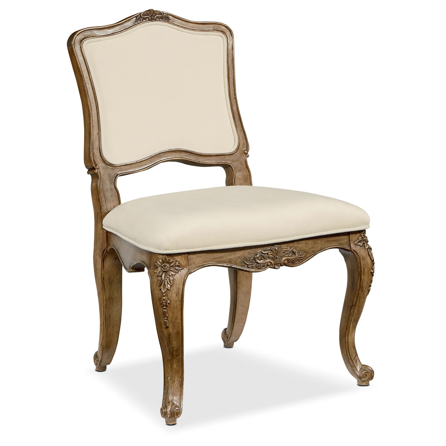 Flora Accent Chair - Alabaster