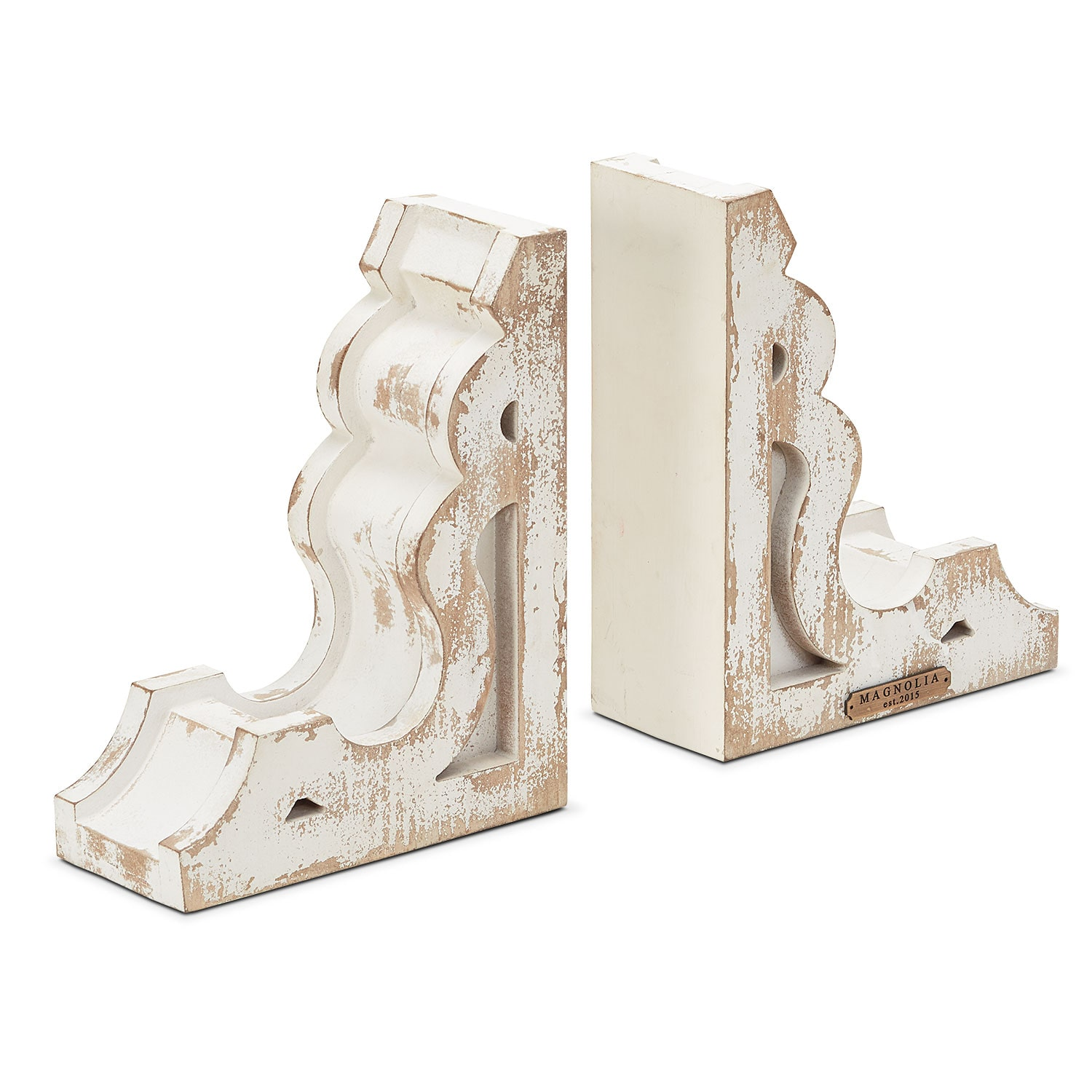 Home Accessories - Wooden Book End Set