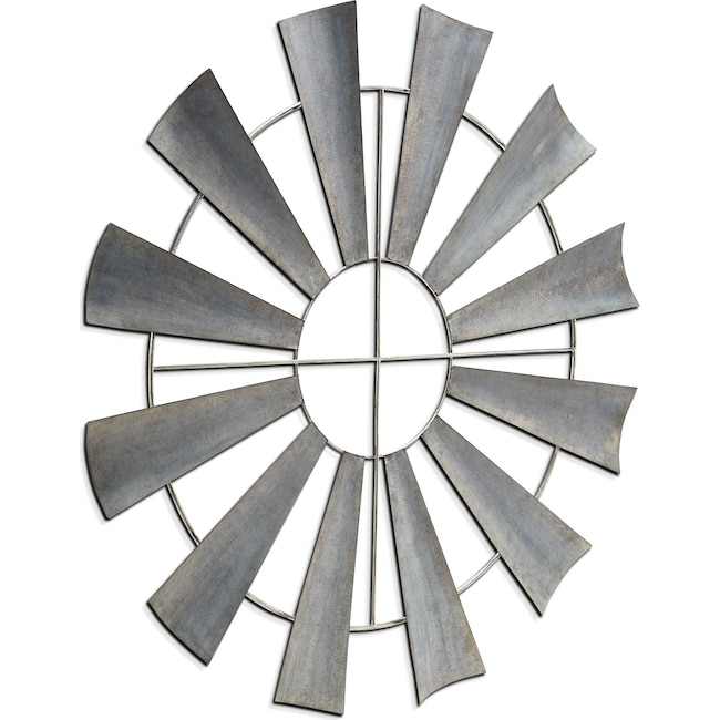 Home Accessories - Metal Windmill