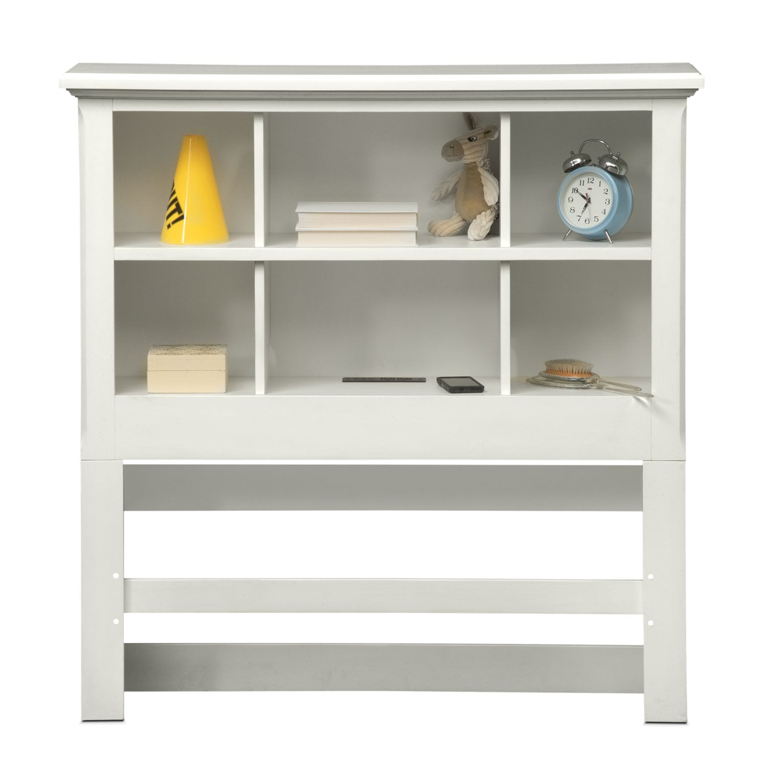 Hanover youth 6 piece twin bookcase bedroom set white american