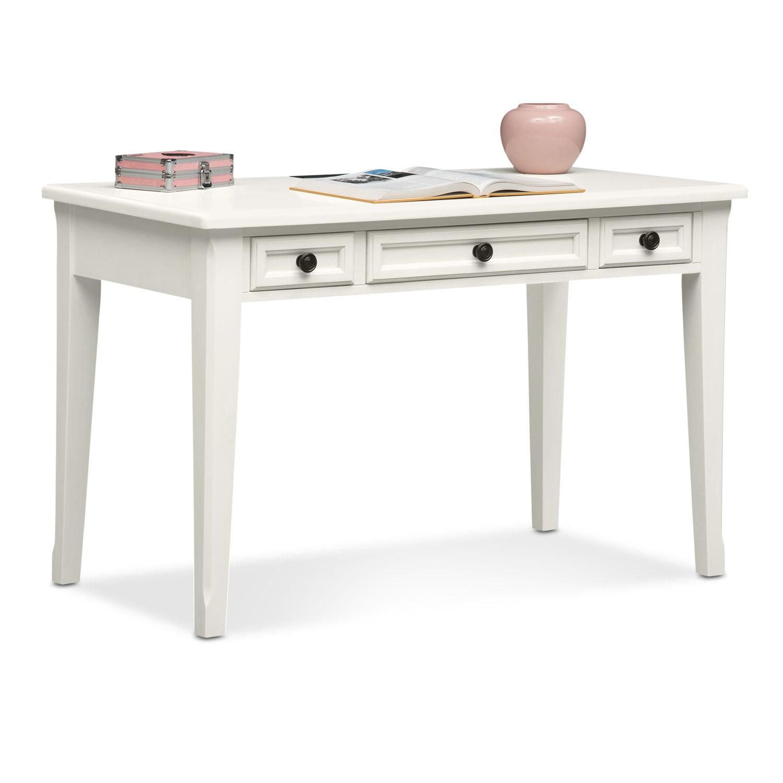 Kids Furniture - Hanover Youth Desk - White