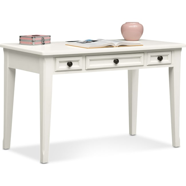 Kids Furniture - Hanover Youth Desk - White