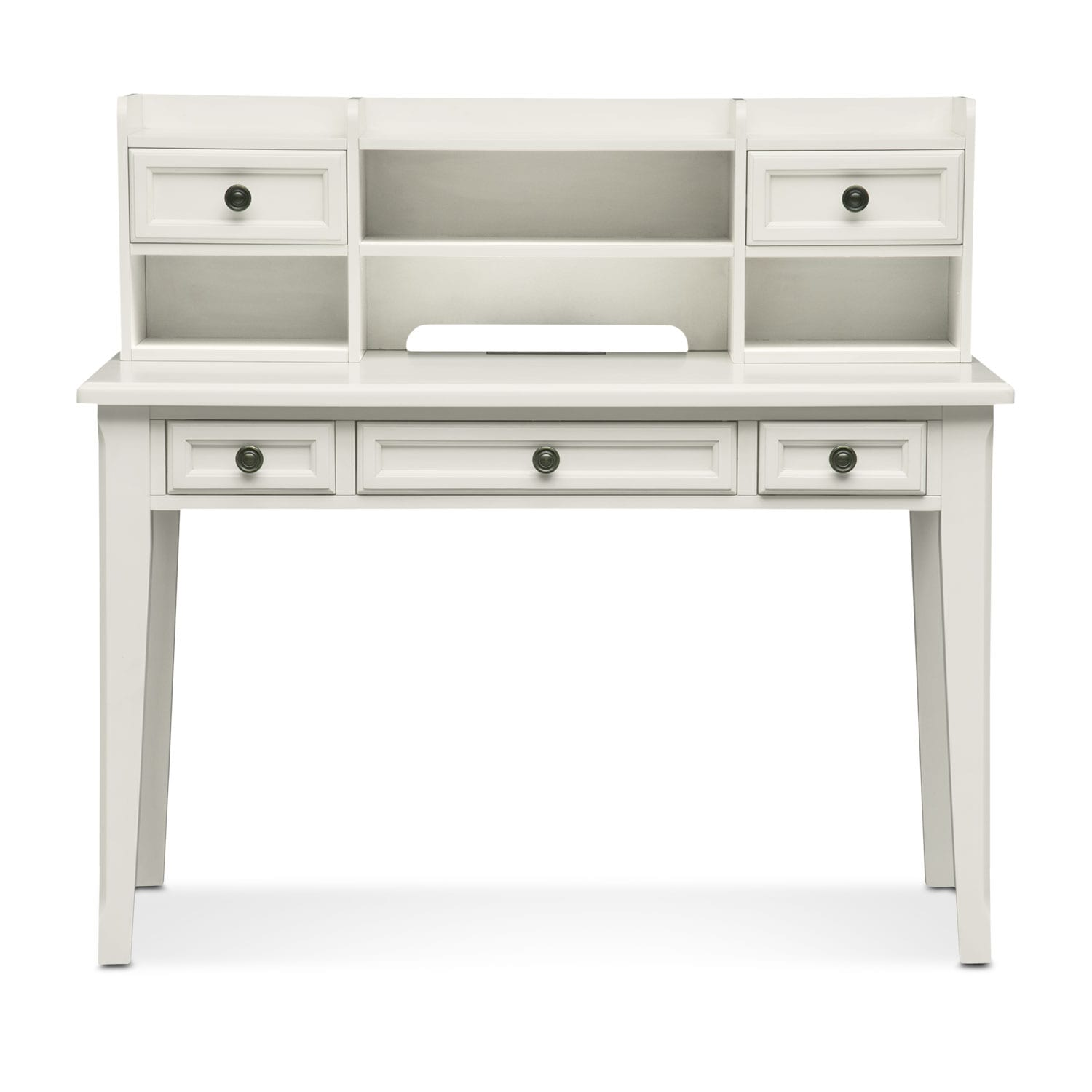 American Signature Furniture Track My Order: Hanover Youth Desk And Hutch - White