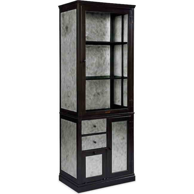 Accent and Occasional Furniture - Metal Apothecary Cabinet - Zinc