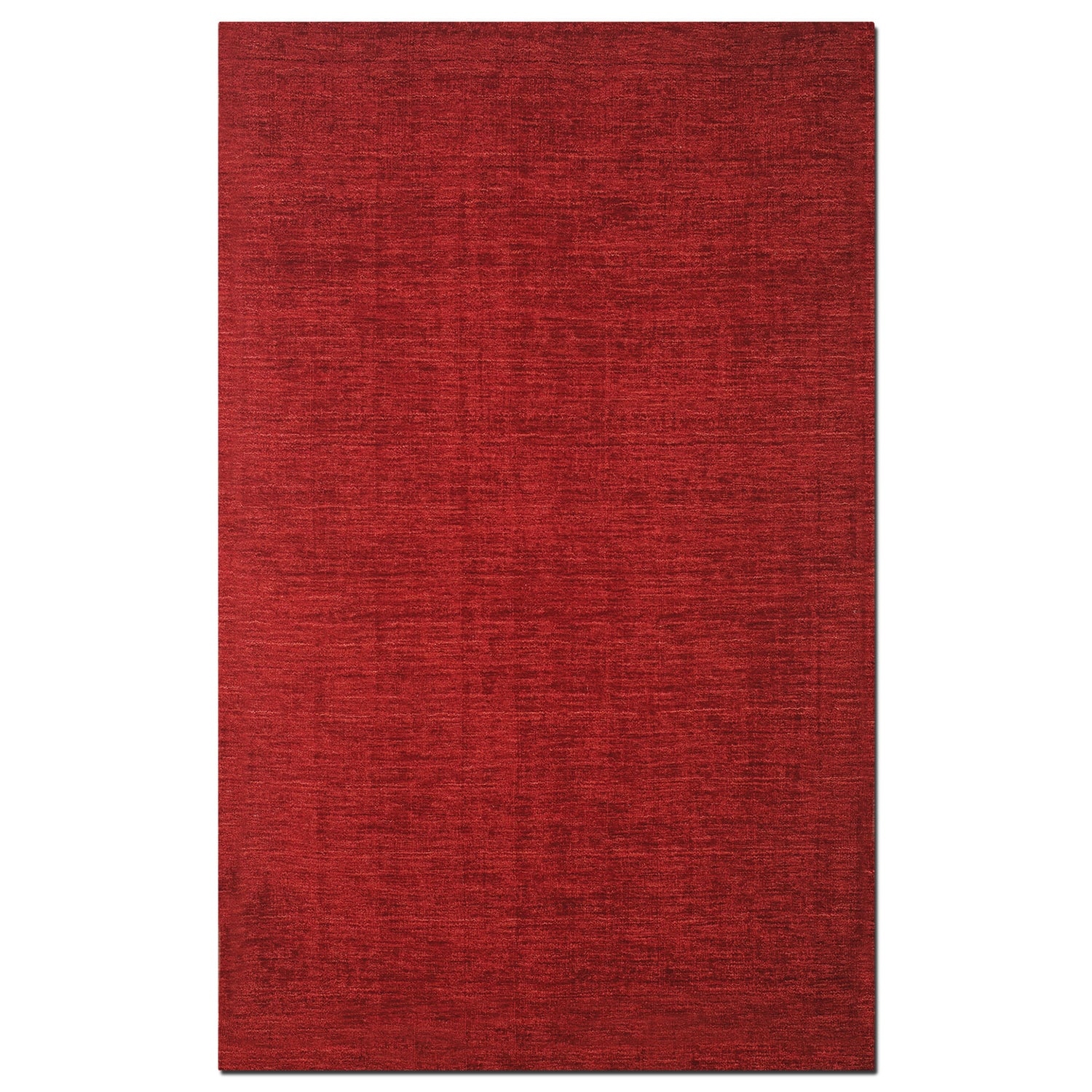 Rugs - Basics 5' x 8' Area Rug - Red