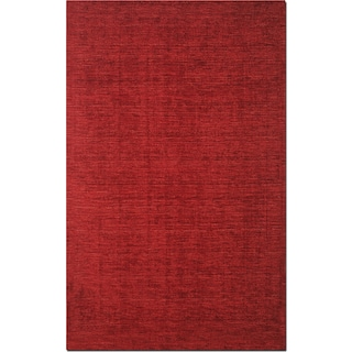 Basics 5' x 8' Area Rug - Red
