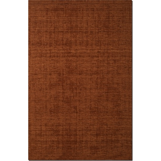 Basics 5' x 8' Area Rug - Orange