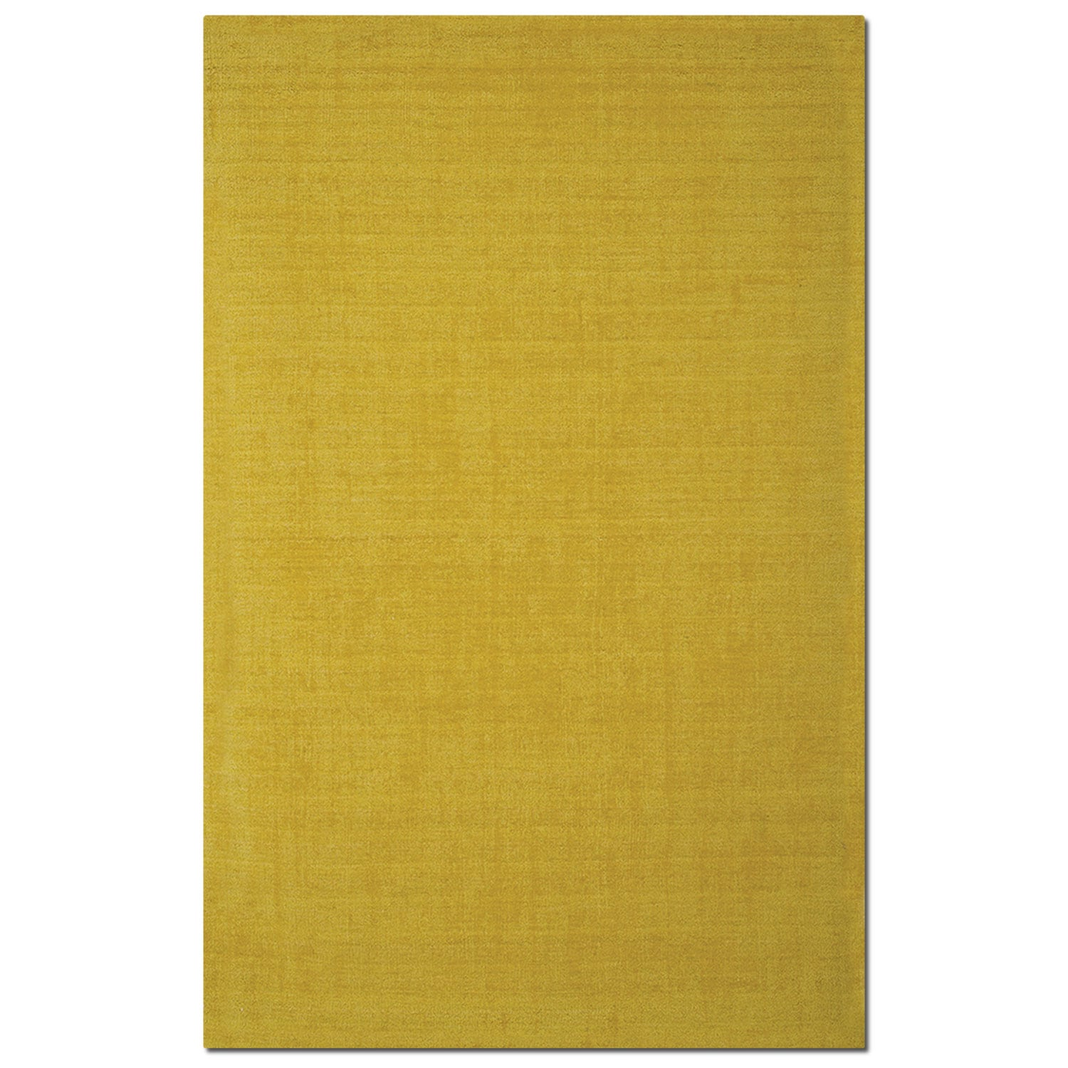 Basics 5' x 8' Area Rug - Yellow