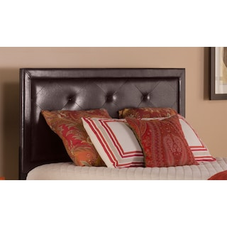 Becker Twin Upholstered Headboard - Brown