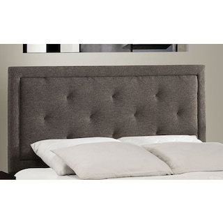 Becker Queen Headboard - Charcoal