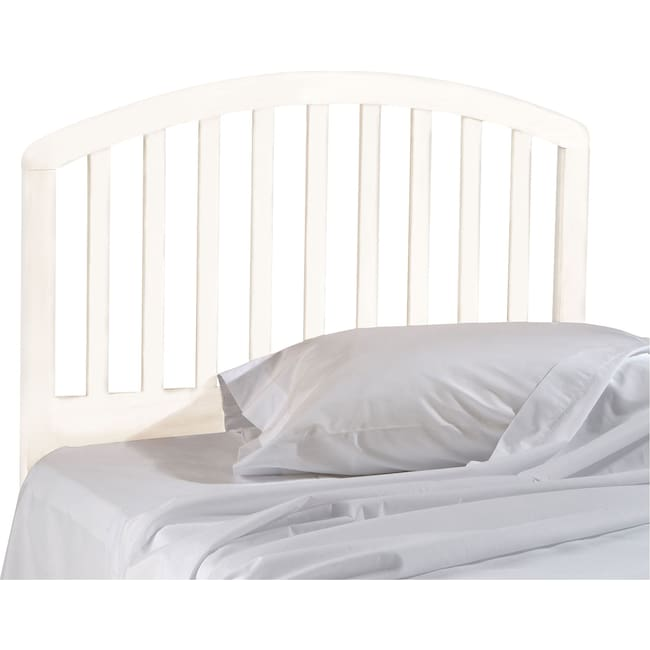 Bedroom Furniture - Carolina Twin Headboard - White