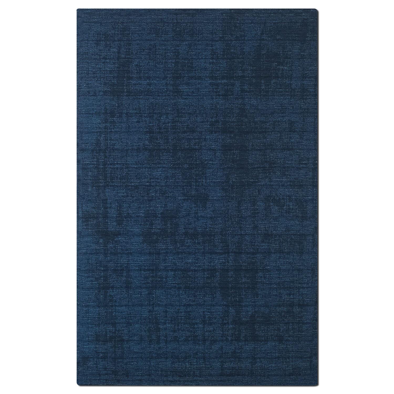 Basics 5' x 8' Area Rug - Dark Blue