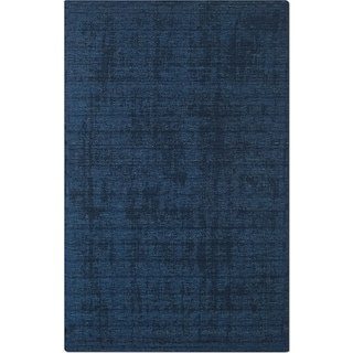 Basics 5' x 8' Area Rug - Dark Blue