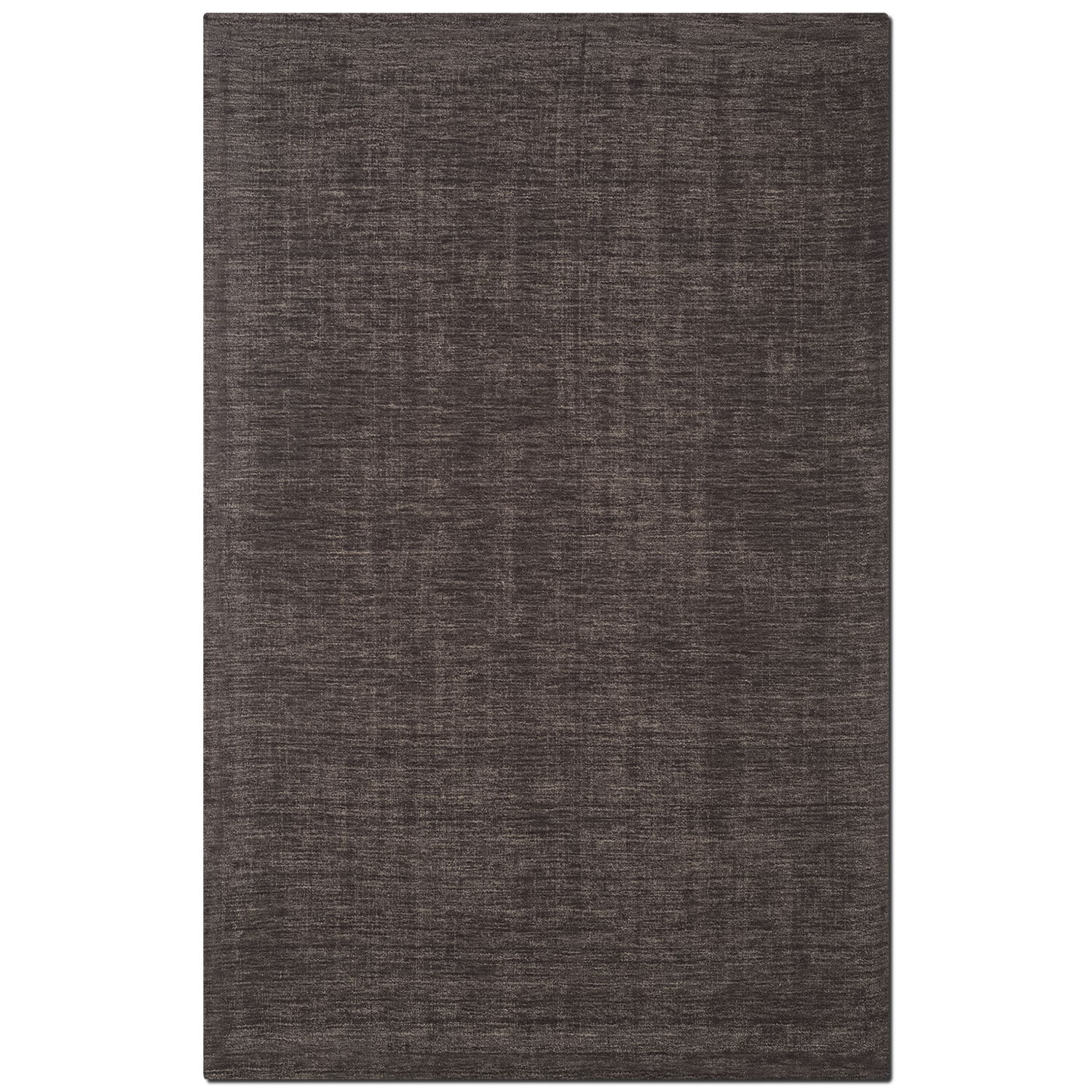 Rugs - Basics Area Rug - Charcoal