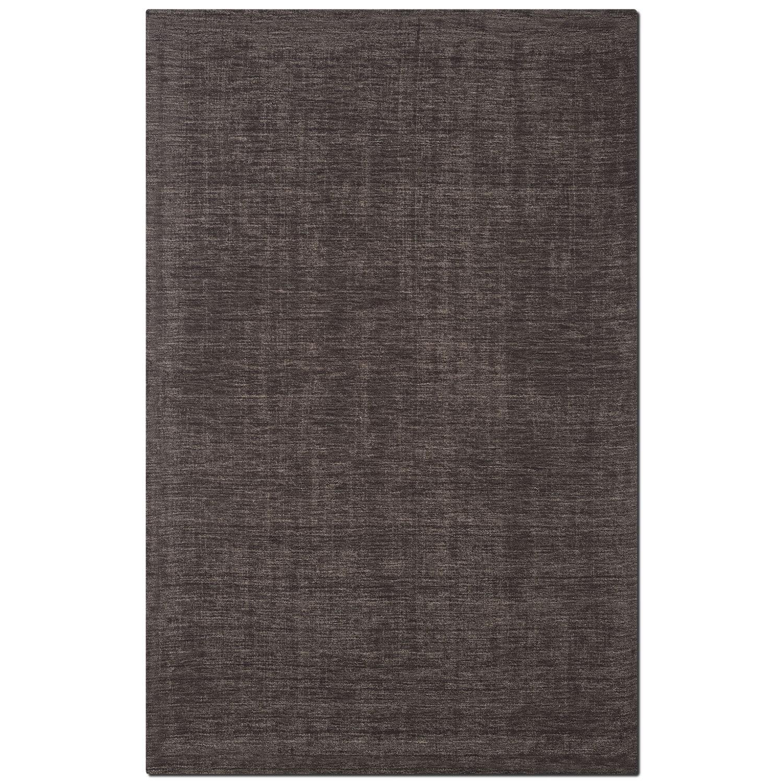 Rugs - Basics 5' x 8' Area Rug - Charcoal