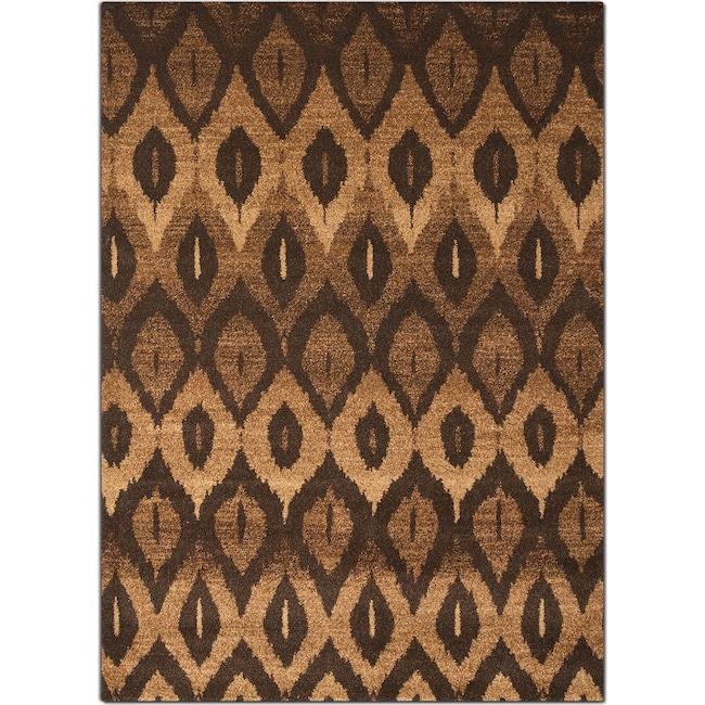 Rugs - Chelsea 5' x 8' Area Rug - Brown