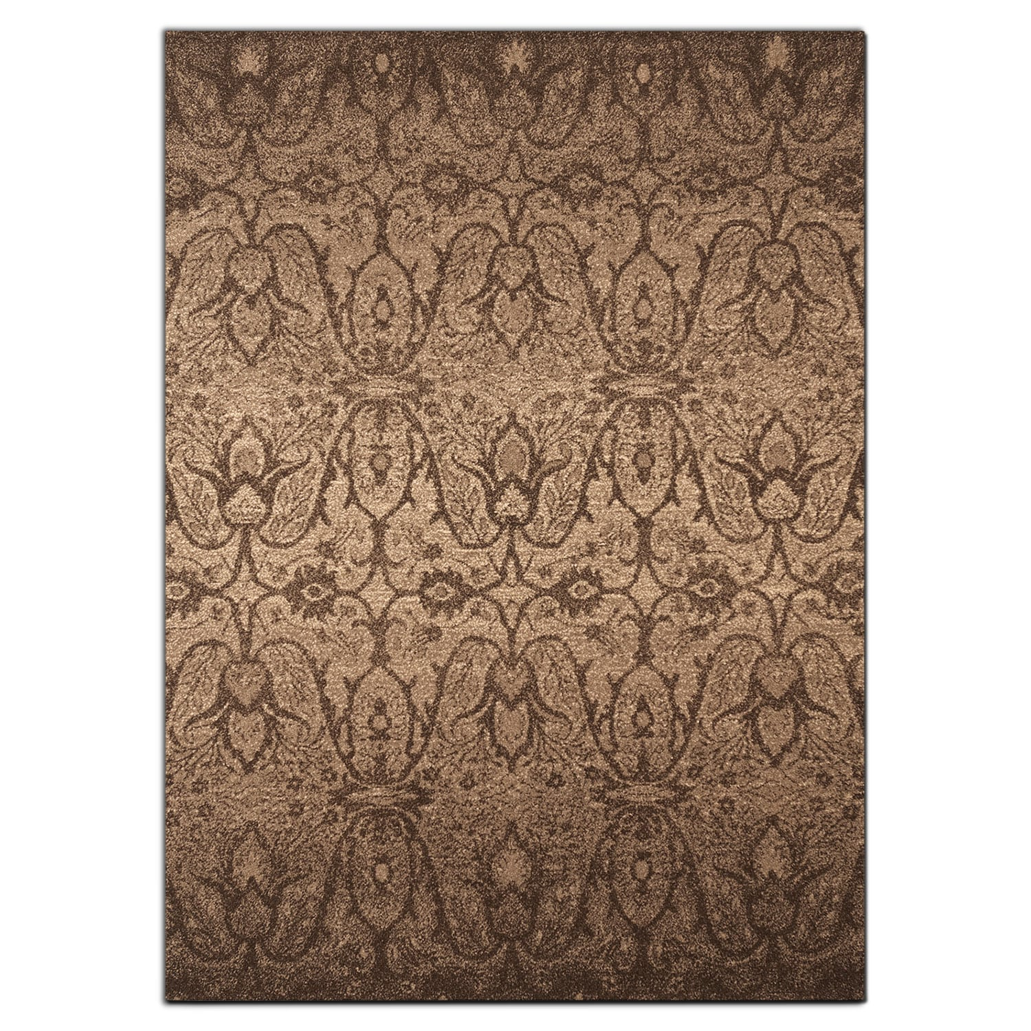 Rugs - Chelsea 8' x 10' Area Rug - Chocolate