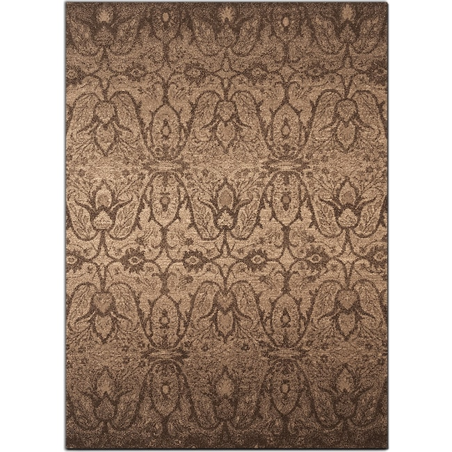 Rugs - Chelsea 5' x 8' Area Rug - Chocolate