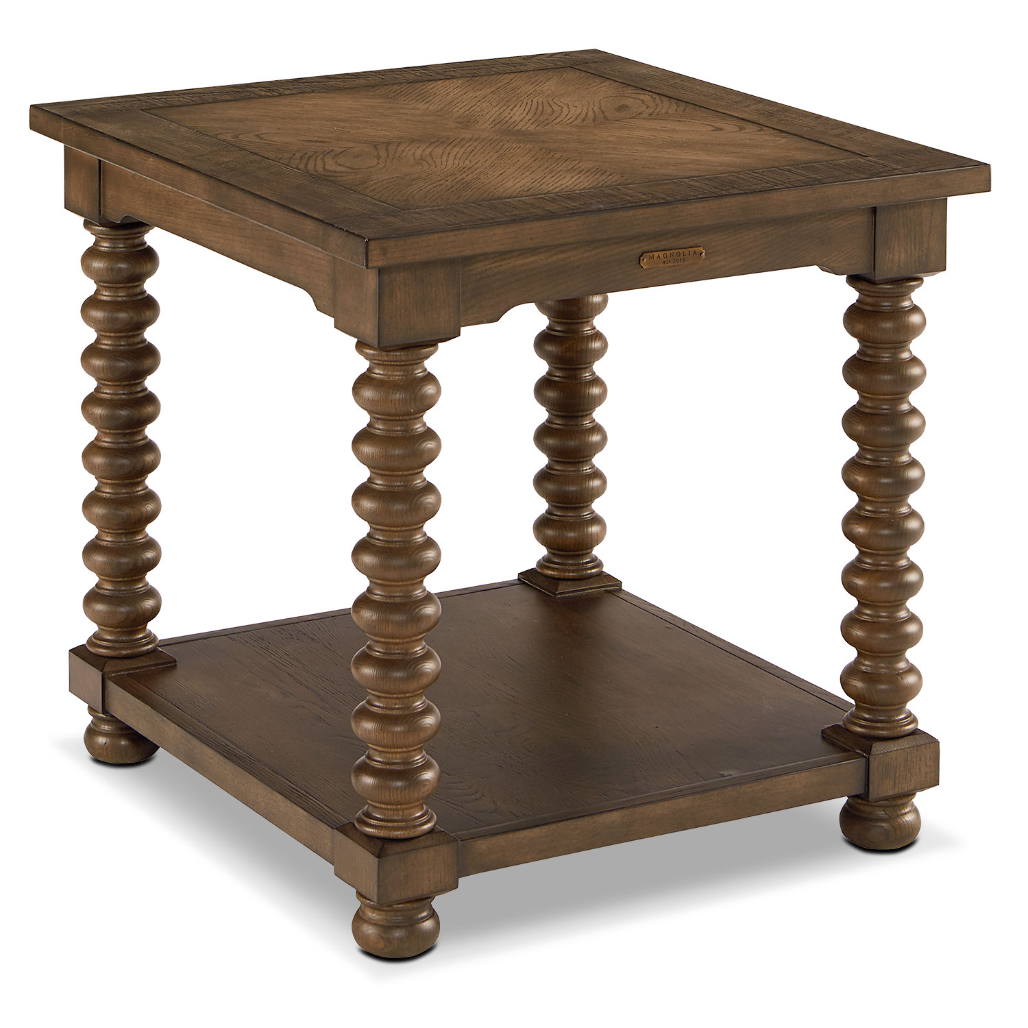 Accent and Occasional Furniture - Traditional Spool Leg End Table