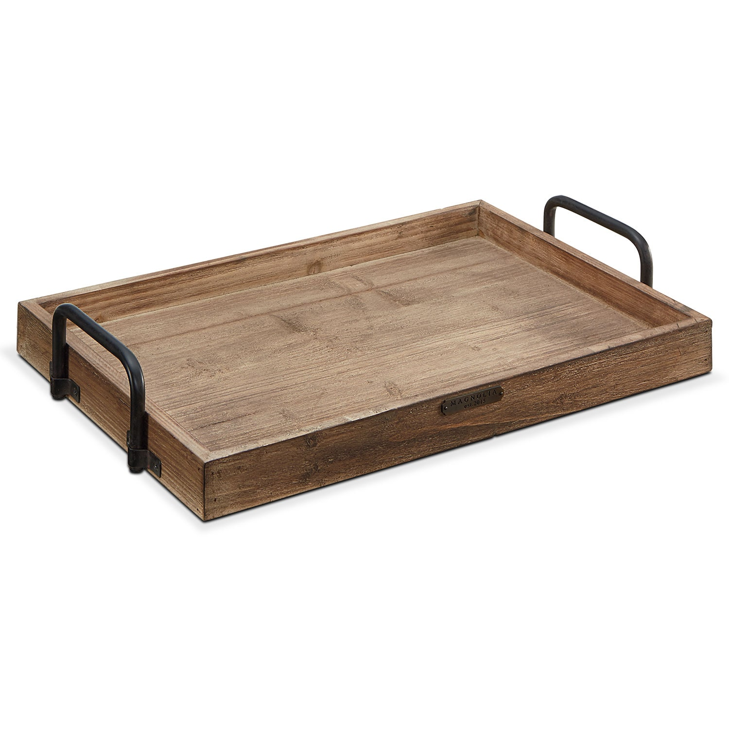 Home Accessories - Breakfast Tray - Black Handles