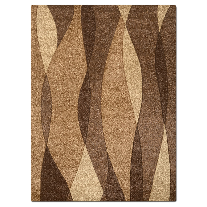 Sedona 5' x 8' Area Rug - Brown
