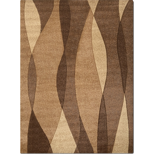 Rugs - Sedona 8' x 10' Area Rug - Brown