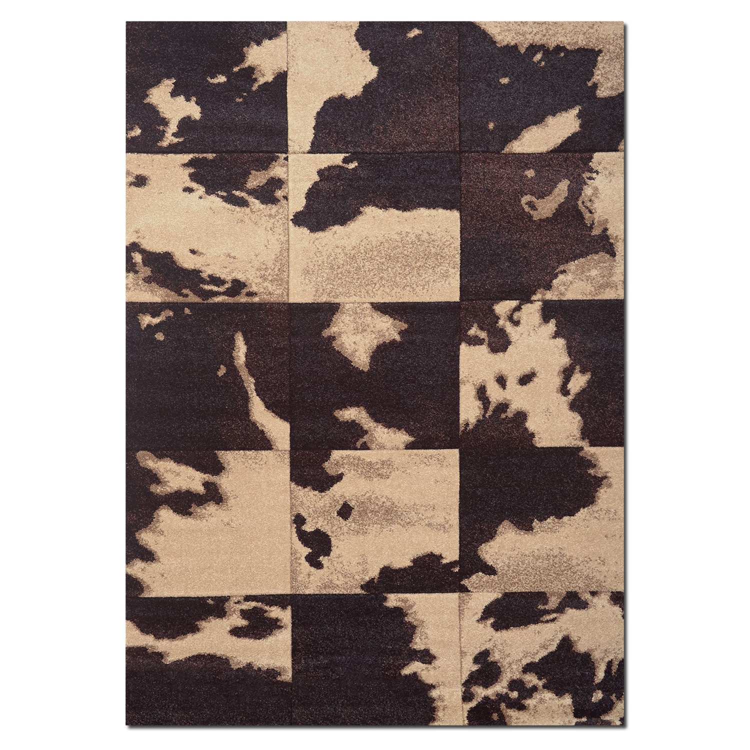 Rugs - Sedona 8' x 10' Area Rug - Chocolate