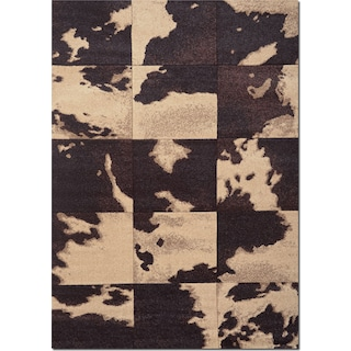 Sedona 5' x 8' Area Rug - Chocolate