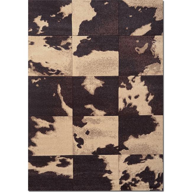 Rugs - Sedona 8' x 10' Area Rug - Chocolate