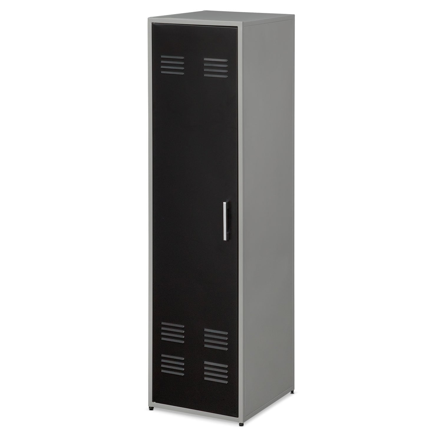 "Bedroom Furniture - Samba Youth 66"" Locker - Black"