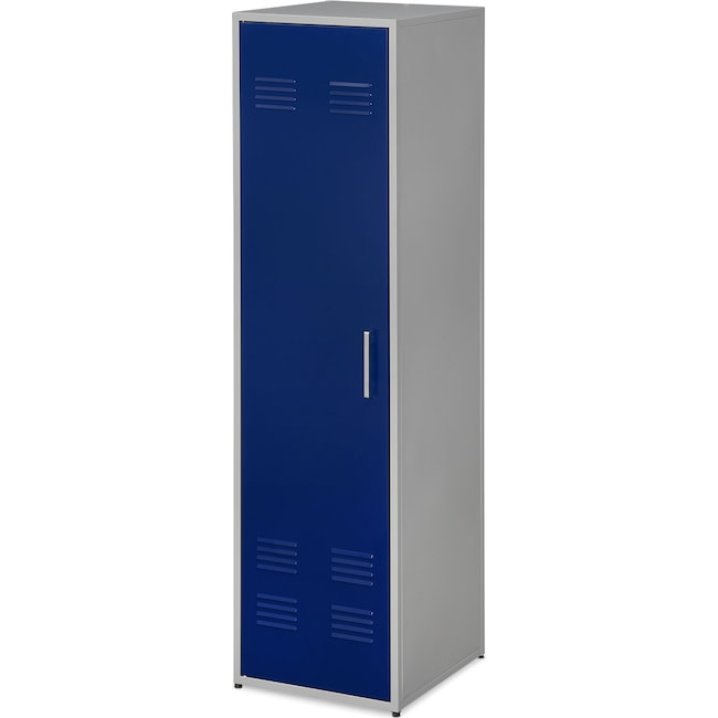 "Bedroom Furniture - Samba Youth 66"" Locker - Blue"