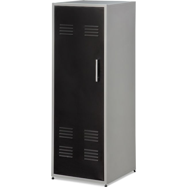 "Bedroom Furniture - Samba Youth 51"" Locker - Black"