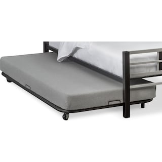 Samba Youth Trundle Bed - Matte Black