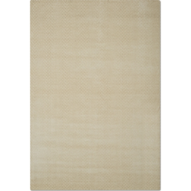 Rugs - Metro 5' x 8' Area Rug - Ivory