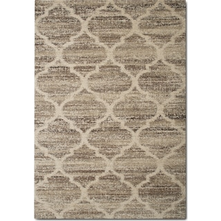 Granada 8' x 10' Area Rug - Tan and Brown