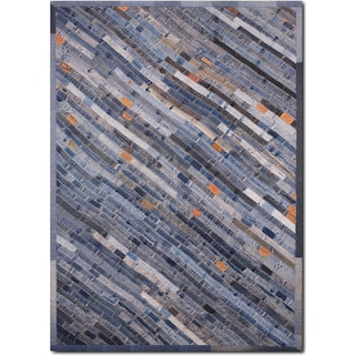 Lifestyle 8' x 10' Area Rug - Denim Blue