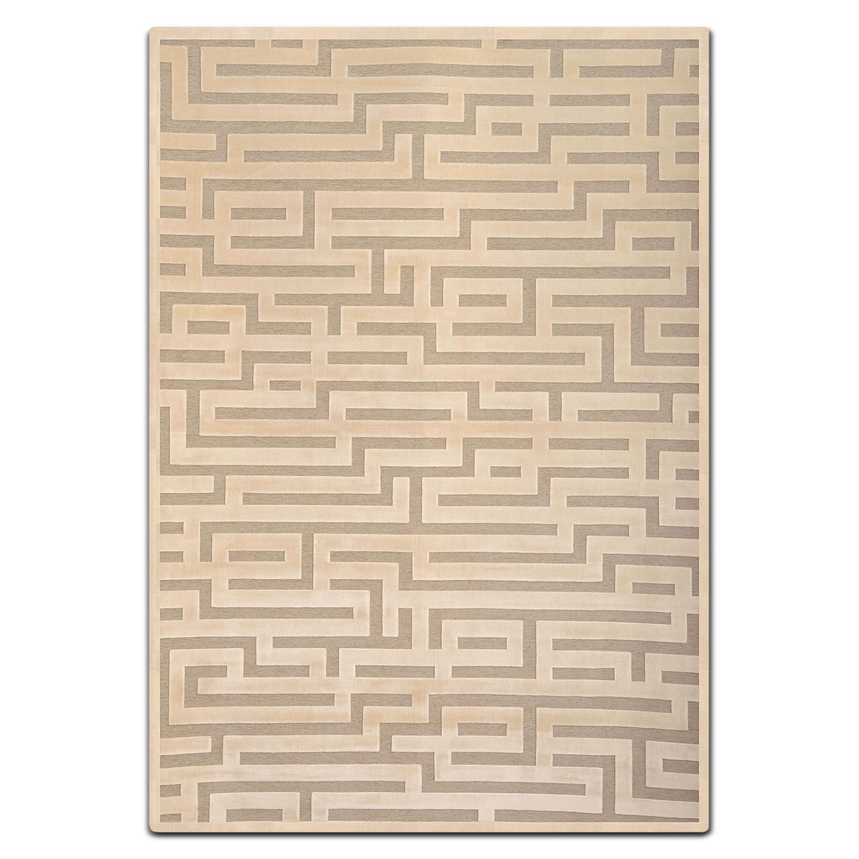 Napa 5' x 8' Area Rug - Ivory